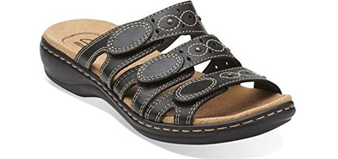 Clarks Women's Leisa Cacti - Open Toe Pregnancy Sandal