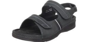 Drew Women's Dora - Comfortable sandals for Orthotics