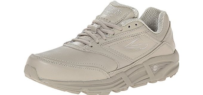 Brooks Women's Addiction Walker - Walker Shoes for Hard Surfaces and Overpronation