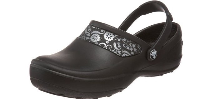 Crocs Women's Mercy - Wider Fit Clogs for Standing and Walking on Hard Surfaces
