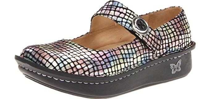 Alegria Women's Paloma -  Cute Rocker Bottom Slip Resistant Flats