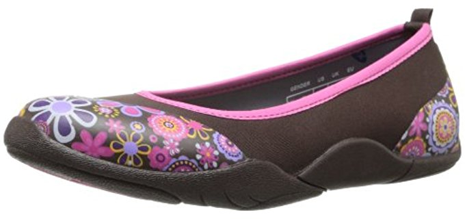 MuckBoots Women's Breezy - Ballet Slip-on for Walking
