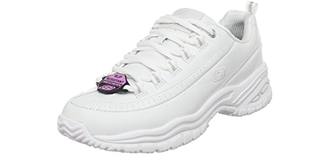 Skechers Women's Work SoftStride - Slip Resistant Work Shoes