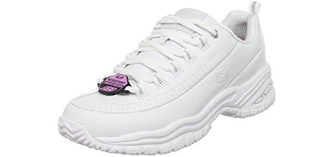 Skechers Women's Work SoftStride - Slip Resistant Work Shoes