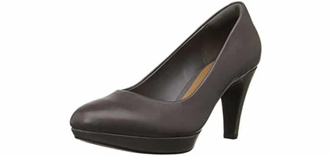 Clarks Women's Brier Dolly - Dress Pump for The Office