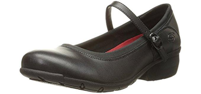 Skechers Women's Toier - Comfortable Mary Jane Work Flats
