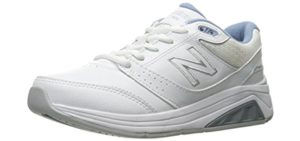 New Balance Women's WW928v3 - Swollen feet walking Shoe
