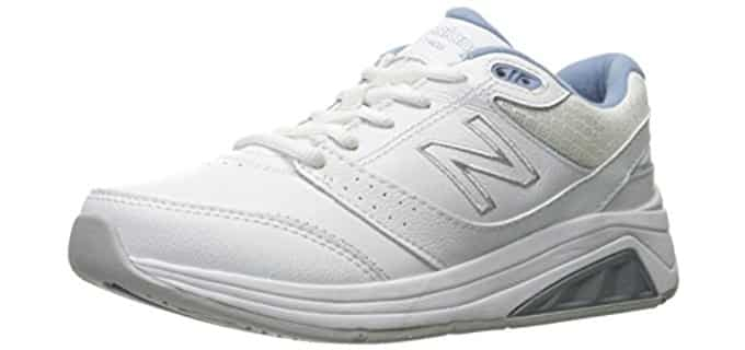 New Balance Women's WW928V3 - Lace Up Walking Shoe for Overweight Women