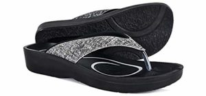 Aerothotic Women's Original - Comfortable Flip Flops