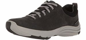 Clarks Women's Wave Andes - Plantar Fasciitis Outdoor Walking Shoe