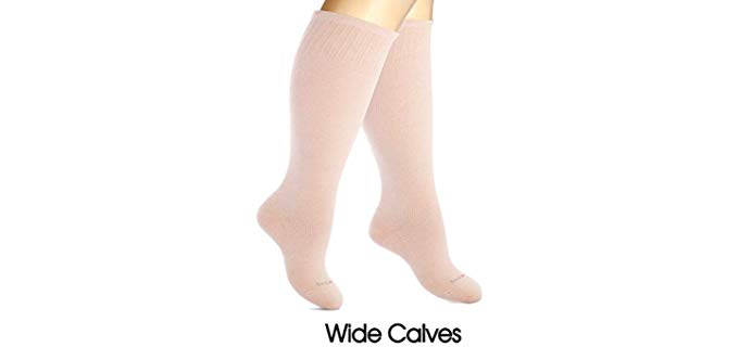 Sockslane Women's Circulation - Larger Calf Compression Socks