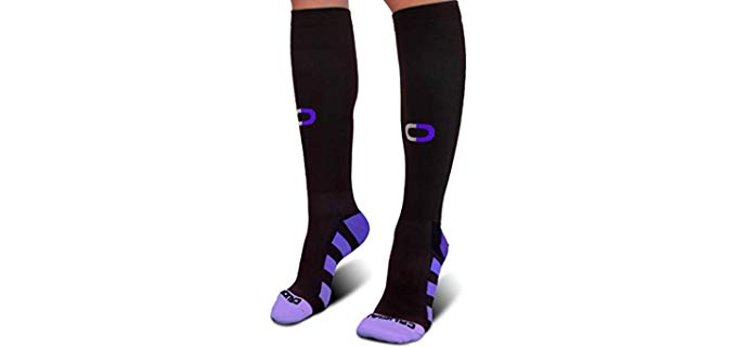 Crucial Comppression Women's Best Graduated Stockings - Breathable Compression Socks