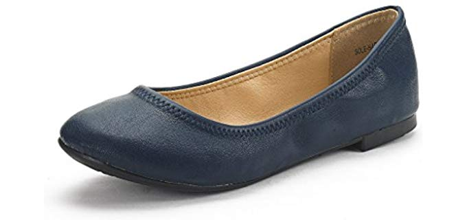Dream Pairs Women's Sole - Arch Support Walking Flats