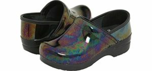 Dansko Women's Professional - Tooled Clog for Swollen Feet