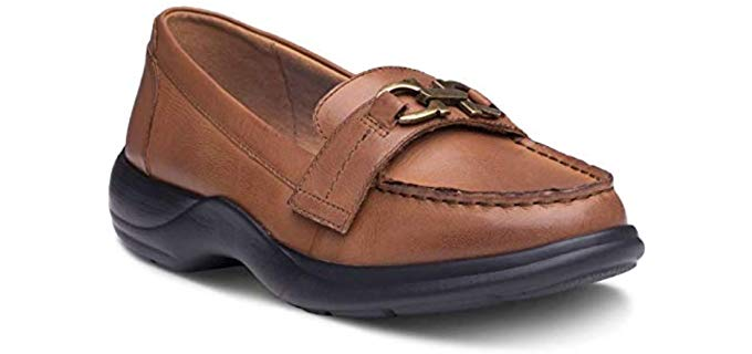 Dr. Comfort Women's Loafers - Comfy Slip On teachers Shoes