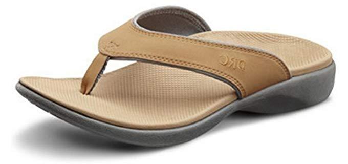 Dr. Comfort Women's Shannon - Summer Sandal for Overweight Women
