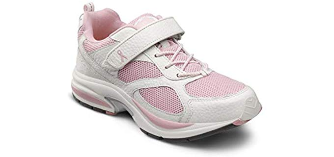 Dr. Comfort Women's Victory - Swollen feet Accommodating Athletic Shoes