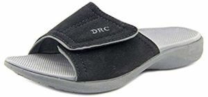 Dr. Comfort Women's Kelly - Hip Pain Slide on Casual Sandals