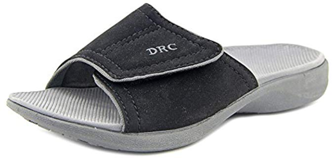 Dr.Comfort Women's Kelly - Sandal for Swollen feet