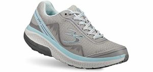 Gravity Defyer Women's Pain Relief - Plantar Fasciitis Walking Shoe
