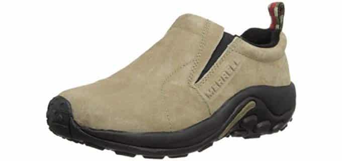 Merrell Women's Jungle Studio - Slip Resistant Moc Pro Work Shoe