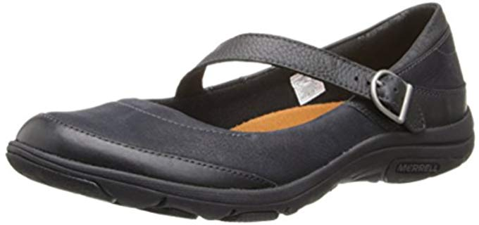 Merrell Women's Dassie - Mary Jane for Hard Concrete Floors