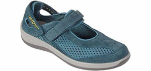 Orthofeet Women's Sanibel - Heel Pain Orthopedic Shoe