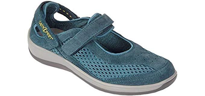 Orthofeet Women's Sanibel - Heel Pain Orthopedic Shoe