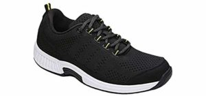 Orthofeet Women's Coral - Orthopedic Arthritis Shoe