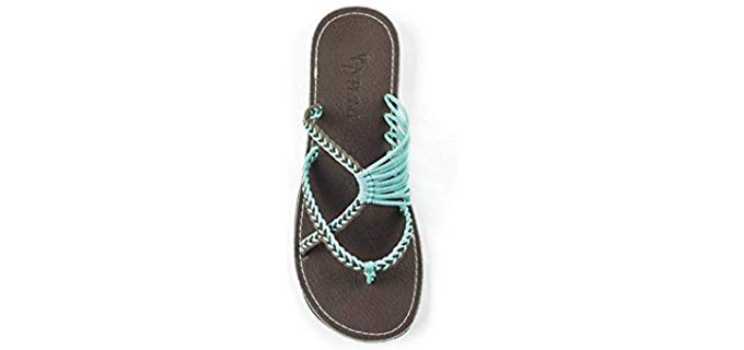 Plaka Women's Oceanside - Beach Sandals