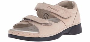 Propet Women's Pedic Walker -  Knee Problem Walking Sandal