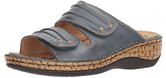 Propet Women's June - Slide sandal for Overweight Women