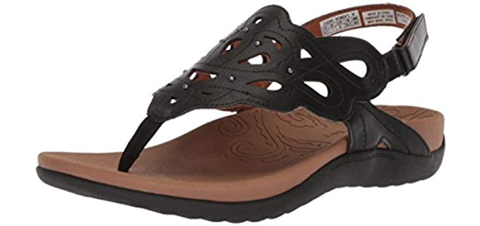 Rockport Women's Ridge Sling - Arch Supportive Thong Sandal