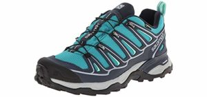 Salomon Women's Ultra 2 GTX - Hiking Shoe for Sweaty Feet