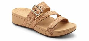 Vionic Women's Pacific Rio - Heel Pain relief Sandal