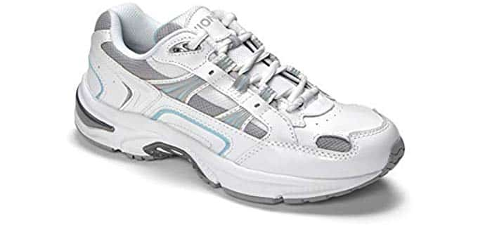 Vionic Orthaheel Women's Walker - Comfortable Walking Shoes for Work