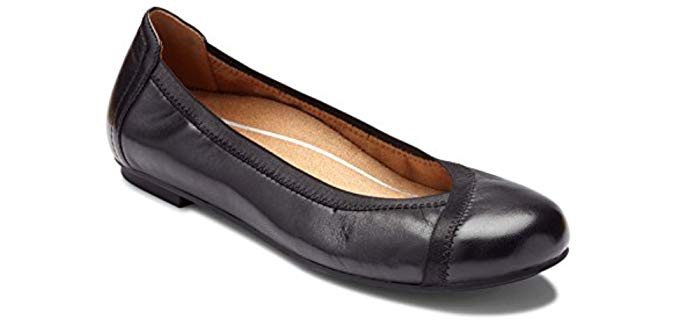 Vionic Women's Spark - Ballet Flat for Teachers