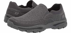 Skechers Men's Relaxed fit Breathe Easy - Breathable Shoes for Flat Feet