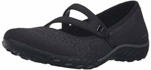 Skechers Women's Relaxed Fit Breathe Easy - Breathable Knee pain Shoes