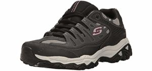 Skechers Men's Energy Afterburn - Diabetes Sneaker
