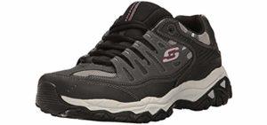 Skechers Men's Energy Afterburn - Wide Width Neuropathy Sneaker