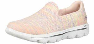 Skechers Women's Go Walk - Slip On Flat Feet Shoe
