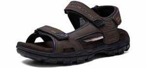 Skechers Men's Louden - Diabetes Sandals