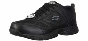Skechers Men's Dighton - Diabetes Work Shoe