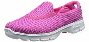 Skechers Women's Go Walk 3 Performance - Skechers Slip On Walking Shoe