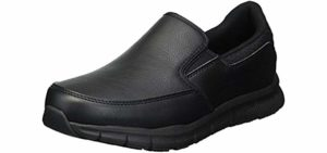 Skechers Women's Nampa-Annod - Skechers Restaurant and Food Industry Work Shoe