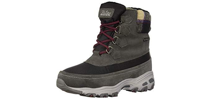 Skechers Women's D'Lites - Women's Hiking Boot