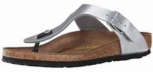 Birkenstock Women's Gizeh - Thong Sandal for Sweaty Feet