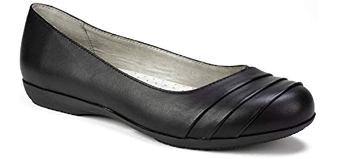 White Mountain Women's Cliffs - Arch Support Ballerina Flats