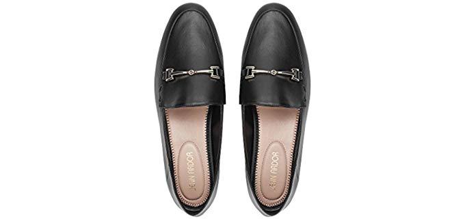 Jenn Ardor Women's Penny Loafers - Comfortable Work Slip On Shoes